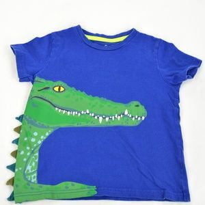 Mini Boden Toddler Boy's 3D Crocodile Short Sleeve